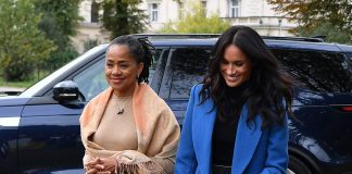 Meghan Markles mum Doria Ragland arrives in the UK prompting speculation royal baby is imminent Photo C GETTY IMAGES