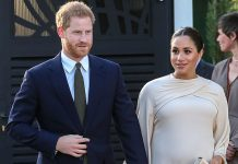 Meghan and Harry visited Morocco in Africa together recently seen directly above and now it is rumored the pair will relocate to Africa once their child