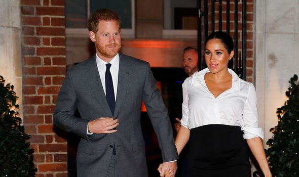Meghan and Harry will soon welcome their first child Image C GETTY