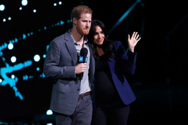 Meghan and Harry will welcome their baby any day now Pic GETTY