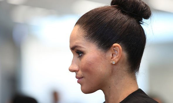 Meghan may be almost before she can try for another baby Image C GETTY