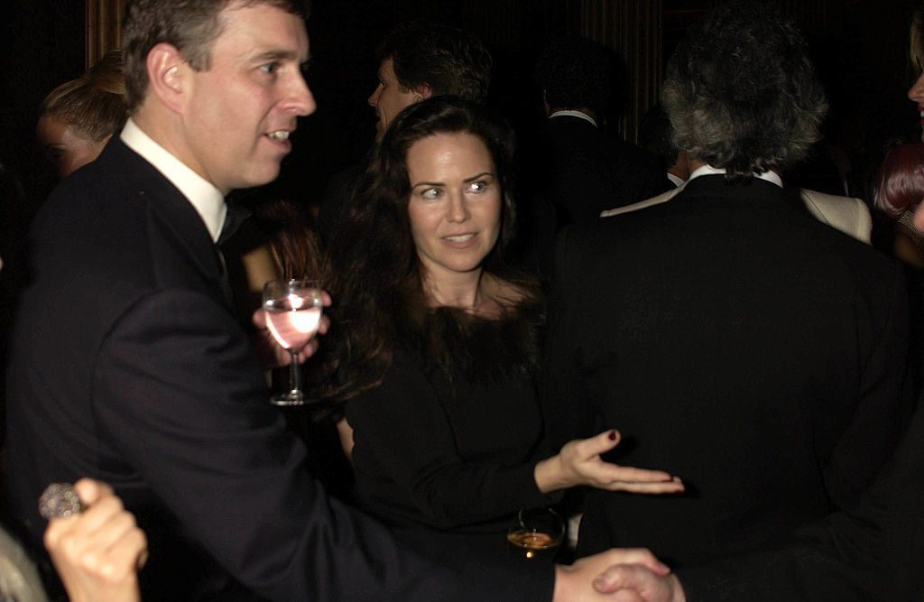 Prince Andrew and Koo Stark Getty C Images