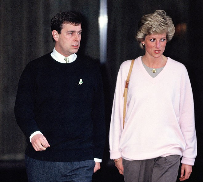 Prince Andrew and Princess Diana Getty C Images