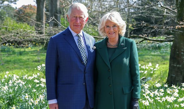 Prince Charles and Camilla Duchess of Cornwall pictured in Belfast today Image Getty