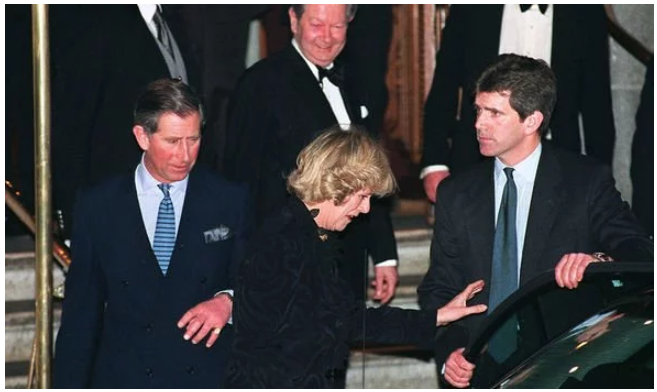 Prince Charles and Camilla Parker Bowles were not pictured together until January Image Getty