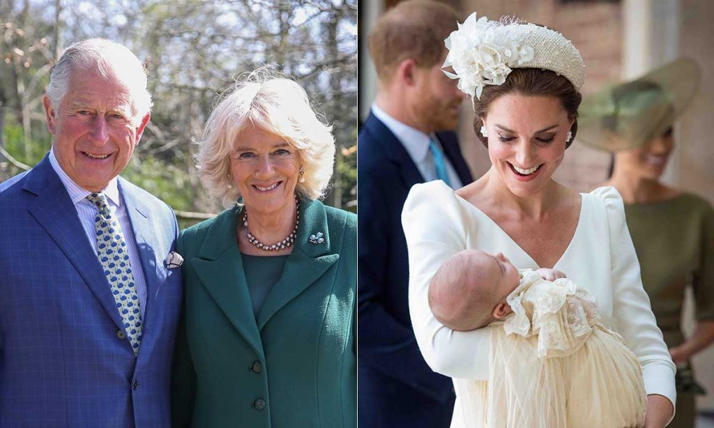 Prince Charles and Camilla pen sweet birthday tribute to Prince Louis Photo C GETTY IMAGES