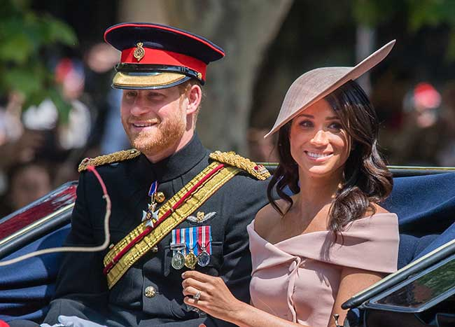 Prince Harry and Meghan are set to move to Windsor soon Photo C GETTY IMAGES