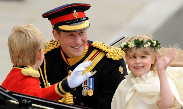 Prince Harry had a few cheeky surprises up his sleeve on the day Image C Getty