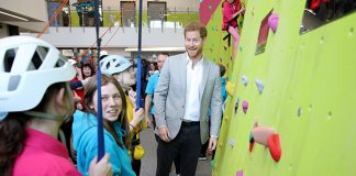 Prince Harry has visited several OnSide Youth Zones before Photo C GETTY IMAGES