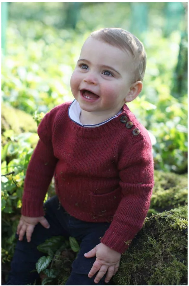 Prince Louis celebrated his first birthday on Tuesday Image THE DUCHESS OF CAMBRIDGE