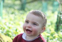 Prince Louis celebrates his first birthday on Tuesday Photo C KENSINGTON PALACE TWITTER