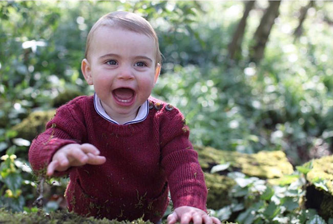 Prince Louis turned one on Tuesday Photo C GETTY IMAGES