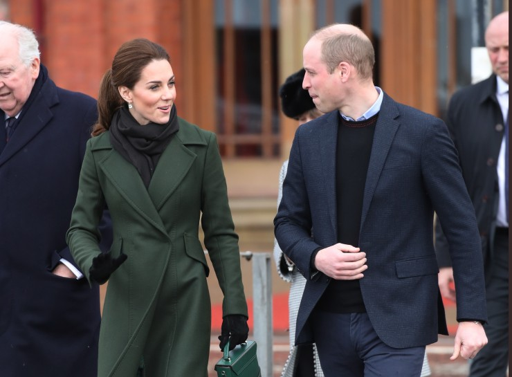 Prince William Duke of Cambridge and Catherine Duchess of Cambridge during a walkabout on March in Blackpool England Chris Jackson Getty Images