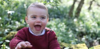 Prince William and Kate Middleton share beautiful pictures of Prince Louis to mark first birthday Photo C KENSINGTON PALACE TWITTER