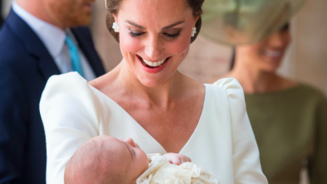 Prince William and Kate Middleton will celebrate Prince Louis birthday early this year photo C Getty Images
