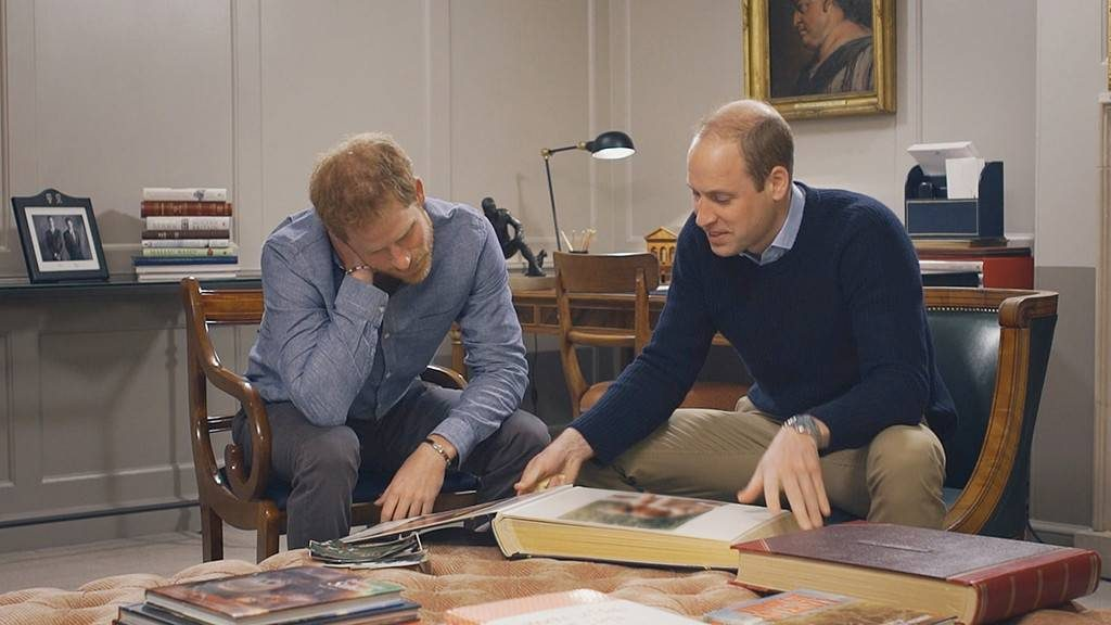Prince William and Prince Harry Phot C Courtesy of HBO