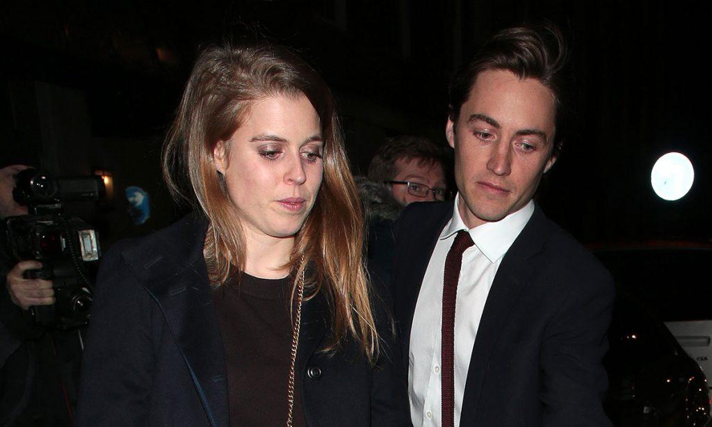 Princess Beatrice and boyfriend Edoardo Mapelli Mozzi enjoy night out with Sarah Ferguson photo C getty images