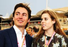 Princess Beatrice and boyfriend Edoardo Mapelli Mozzi pictured with Sarah Ferguson for the first time Photo C GETTY IMAGES