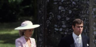 Princess Diana and Prince Andrew Getty C Images