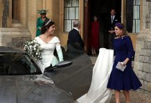 Princess Eugenie shares stunning never before seen photo from her wedding day Photo C GETTY IMAGES