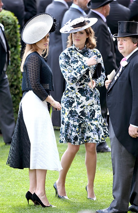 Princess Eugenie wore an Erdem dress to Ascot PHOTO c GETTY IMAGES