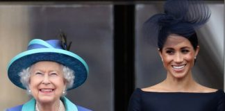 Queen Elizabeth II is believed to have helped Meghan Markle settle into her new role Image GETTY