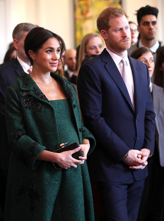 ROYAL BABY Meghan and Harry will welcome their first child soon Pic GETTY