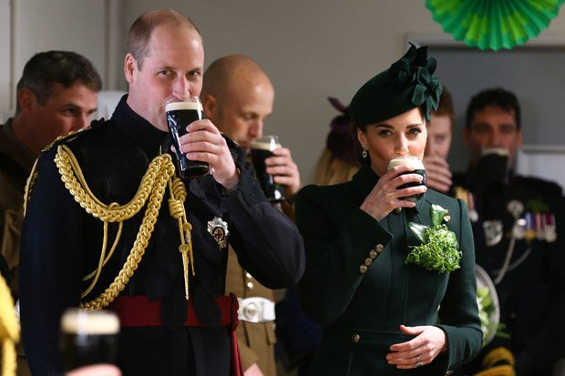 TENSIONS The row could further the spat between Harry and Prince William left Pic GETTY