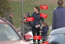 The Cambridges and the Tindalls put on a very down to earth display at the Burnham Market Horse Trials in Norfolk opting for mainly high street brands