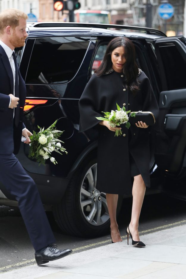 The Duchess is due to give birth imminently Photo C GETTY IMAGES