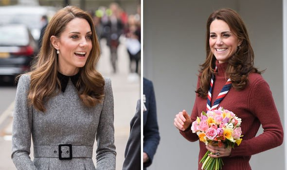 The Duchess of Cambridge full of smiles at some recent royal engagements Image C Getty