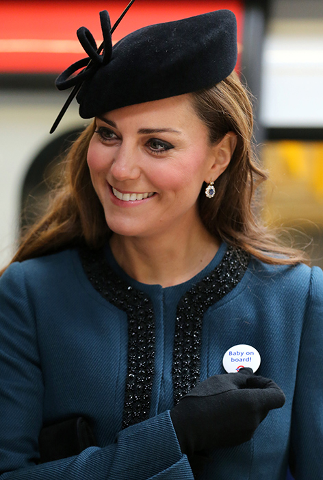 The Duchess of Cambridge on the tube Photo C GETTY IMAGES