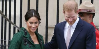 The Duke and Duchess of Sussex are expecting their first child together in late April or early May Image GETTY