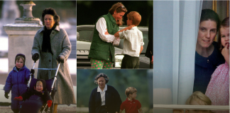 The cutest photos of royal children and their beloved nannies from Prince George to the Queen Photo C GETTY IMAGES