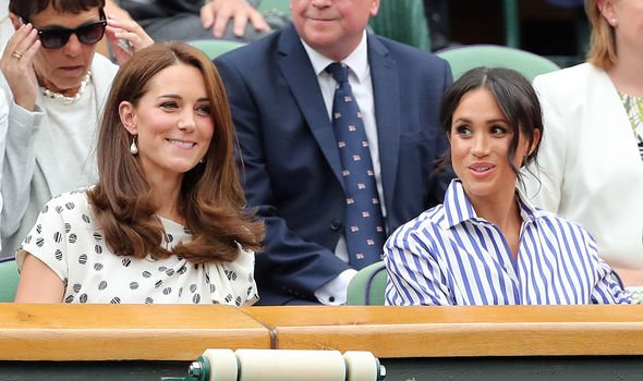 The pair pictured together at Wimbledon in Image C Getty
