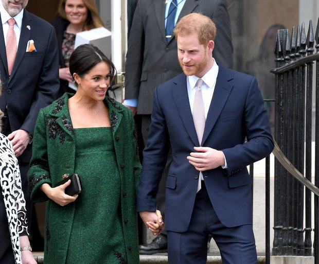 The royal baby will become seventh in line to the throne after its birth Pic GETTY