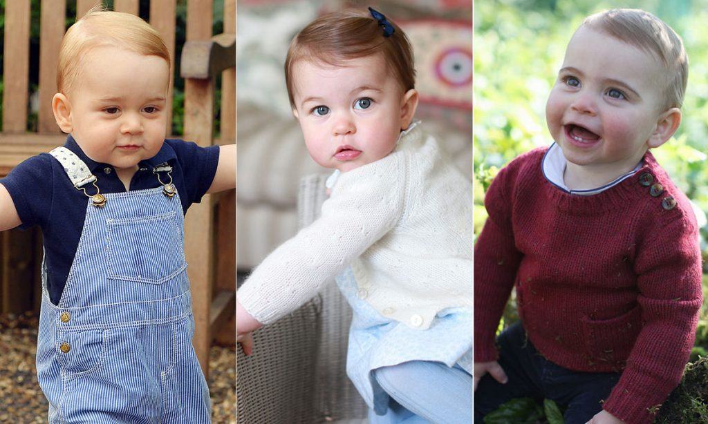 The sweet coincidences in Prince George Louis and Princess Charlottes first birthday pictures Photo C GETTY IMAGES