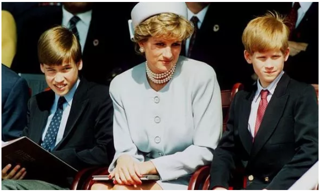Two names Princess Diana ruled out for their sons could be picked by Meghan and Harry Image Getty
