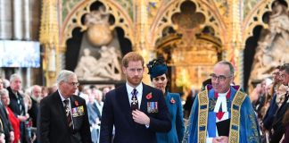 Why Prince Harry Sat in Front of Kate Middleton During the Anzac Service in Westminster Abbey Photo C VICTORIA JONES GETTY IMAGES