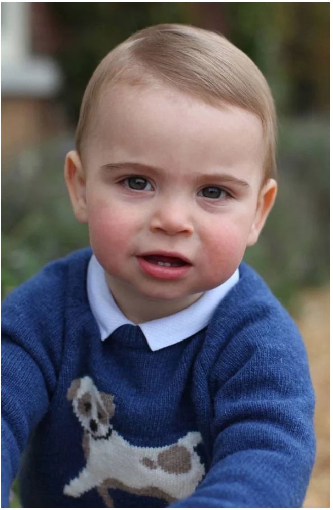 William and Kate shared adorable new pictures of Louis to mark his birthday Image THE DUCHESS OF CAMBRIDGE