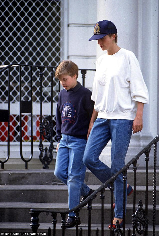William reportedly signed up with the same gym in and asked whether they did the same cookies Diana would buy him as a treat in the nineties at the club