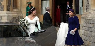 cropped Princess Eugenie shares stunning never before seen photo from her wedding day Photo C GETTY IMAGES