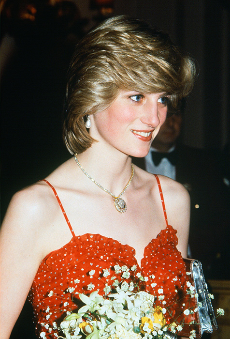 princess-diana-in-red-dress