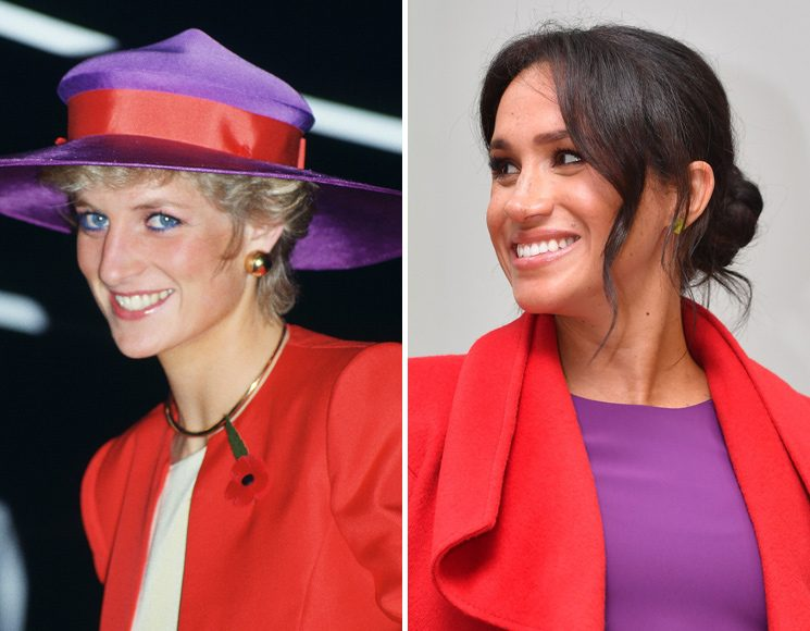 All the times Meghan Markle has paid tribute to Princess Diana Photo C Getty Images