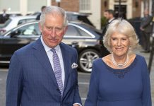 Charles and Camilla touched down in Berlin on Tuesday Photo C GETTY IMAGES