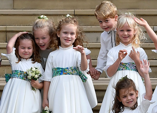 Charlotte will attend the same school as George and their cousin Maud Windsor Photo C Getty Images