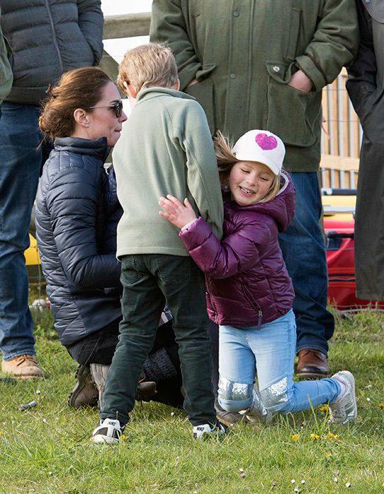 Cousins Prince George and Mia Tindall have a close relationship Photo C GETTY IMAGES