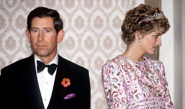 Diana and Charles suffered their own break up Image GETTY
