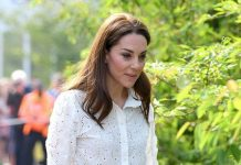 """Duchess of Cambridge's handwriting reveals she is """"bossy"""" according to an expert Image GETTY"""