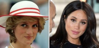 Duchess of Sussex pays heart warming baby tribute to Princess Diana Image C GETTY
